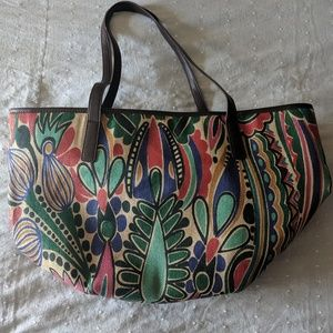 Neiman Marcus Colorful Tote Bag